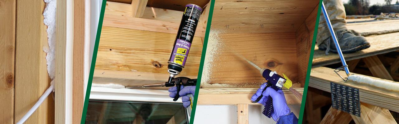 Touch N Foam Professional Amp Diy Spray Foam Insulation