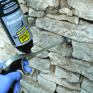 Touch 39 n foam landscaping adhesives for Concrete foam walls